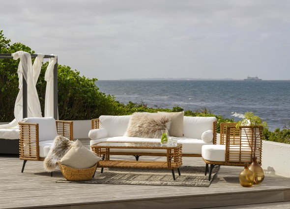 Brafab Covelo Polyrattan Lounge Gartenmöbel