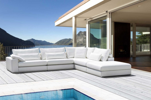 Design Terrassensofa Alberta von Primavera, offene Ecke rechts