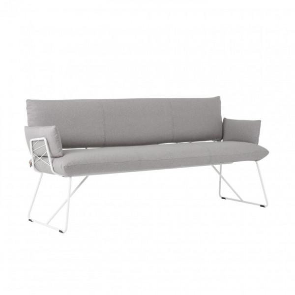 Mobitec Cosy +A Polster Sitzbank mit Armlehnen, aufgesetztes Rückenkissen,