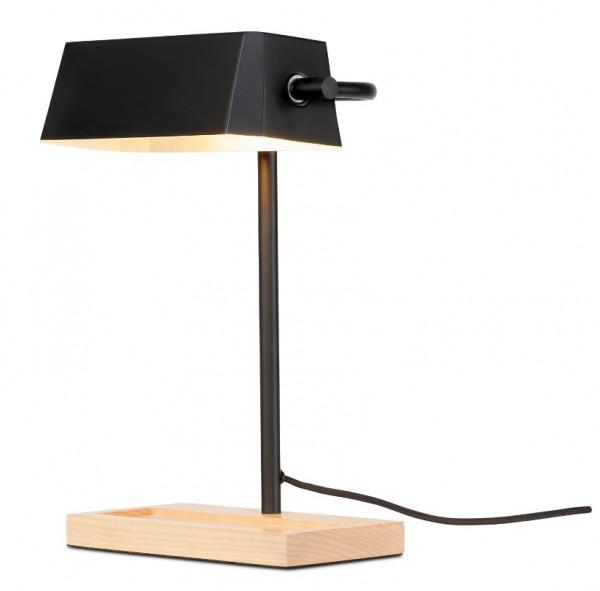 Bankerlampe schwarz Romi Cambridge
