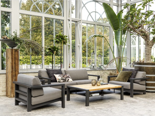 Brafab Amesdale Gartensofa Set, Ambiente