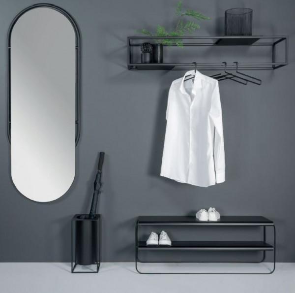 Offenes Stahl Garderoben Set Nordic Design