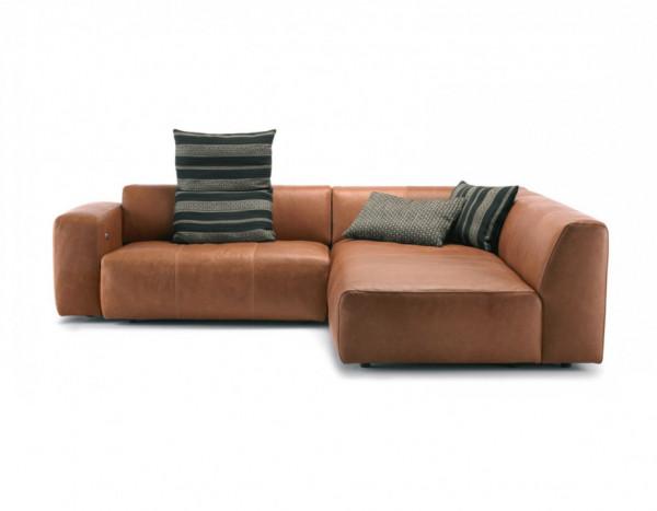 Bullfrog Camp 1001 Lounge Sofa Leder Buffalo 24 Kupfer