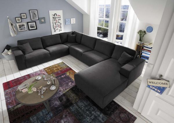 Modulsofa Cube Design Primavera Madrid, U-Sofa Divan rechts