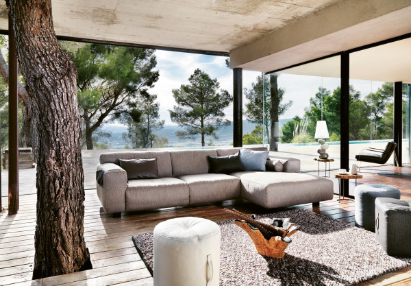 Couch Ecke Vesta im Hygge Stil